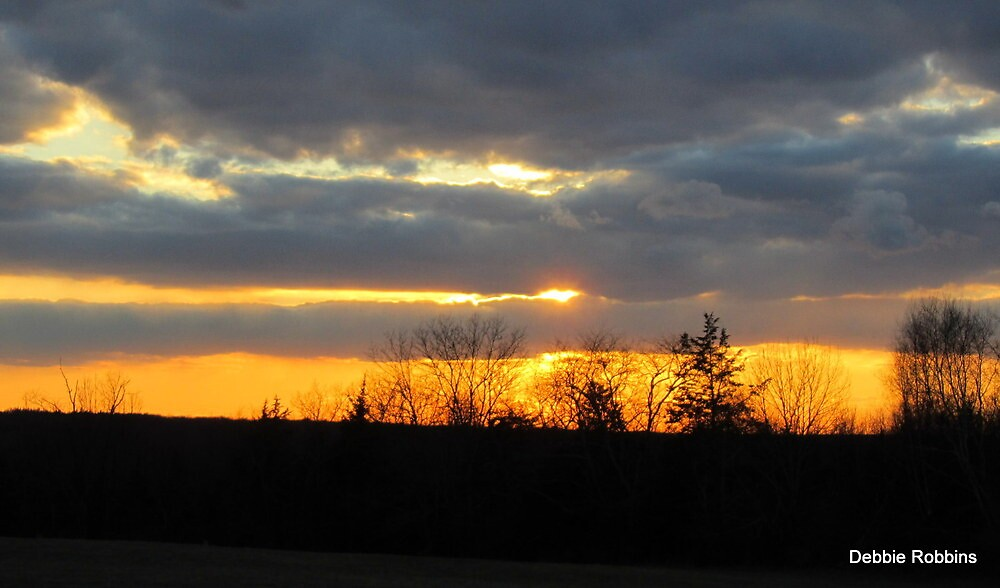 """""""Welcome Home"""" said the Sunset... by Debbie Robbins"""