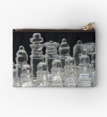Chess King and Queen Studio Pouch