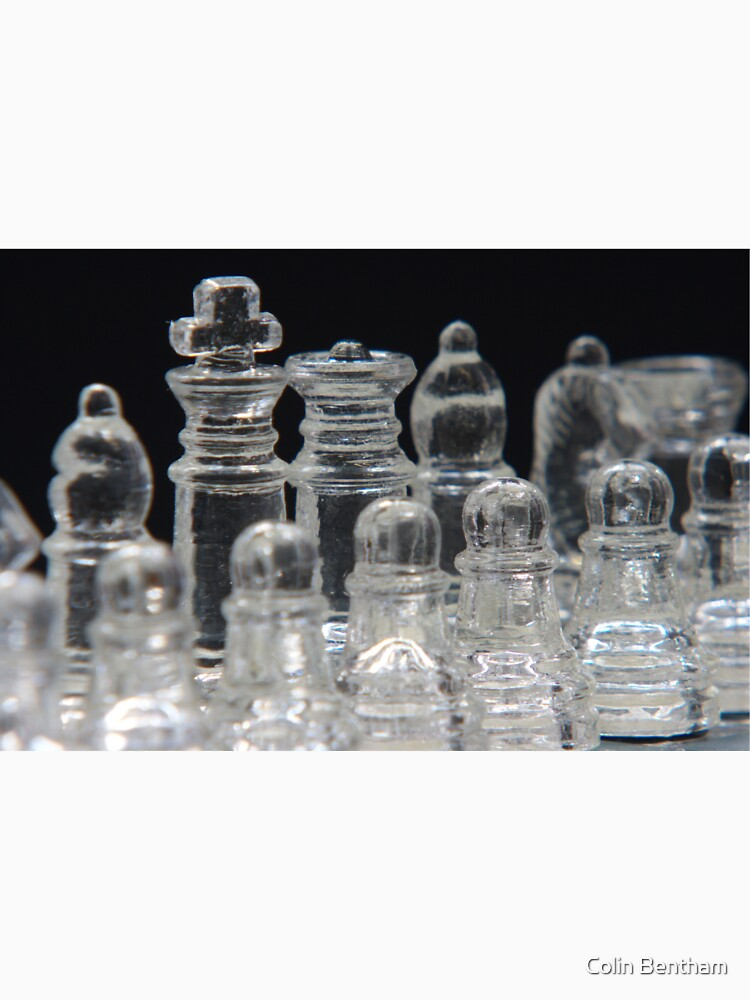 Chess King and Queen by Colin-Bentham