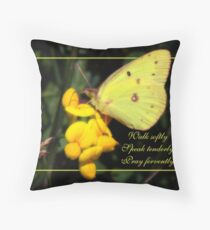 Prayer  (for Trish Meyer) Throw Pillow