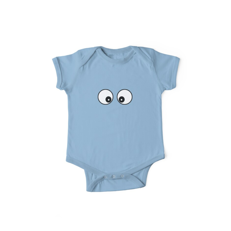 Googly Funny Cartoon Eyes - Toon T-Shirt & Top by deanworld