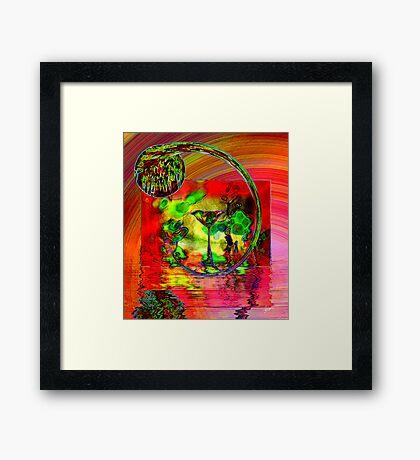 Journey of Emotions Framed Print