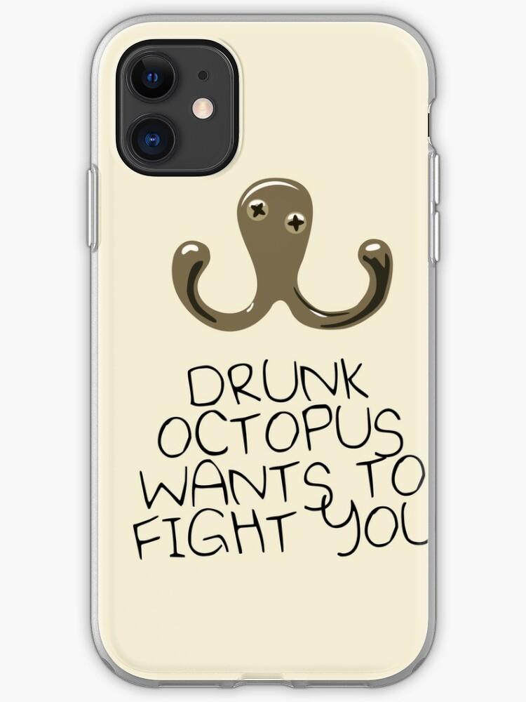 Drunk Octopus iPhone 11 case