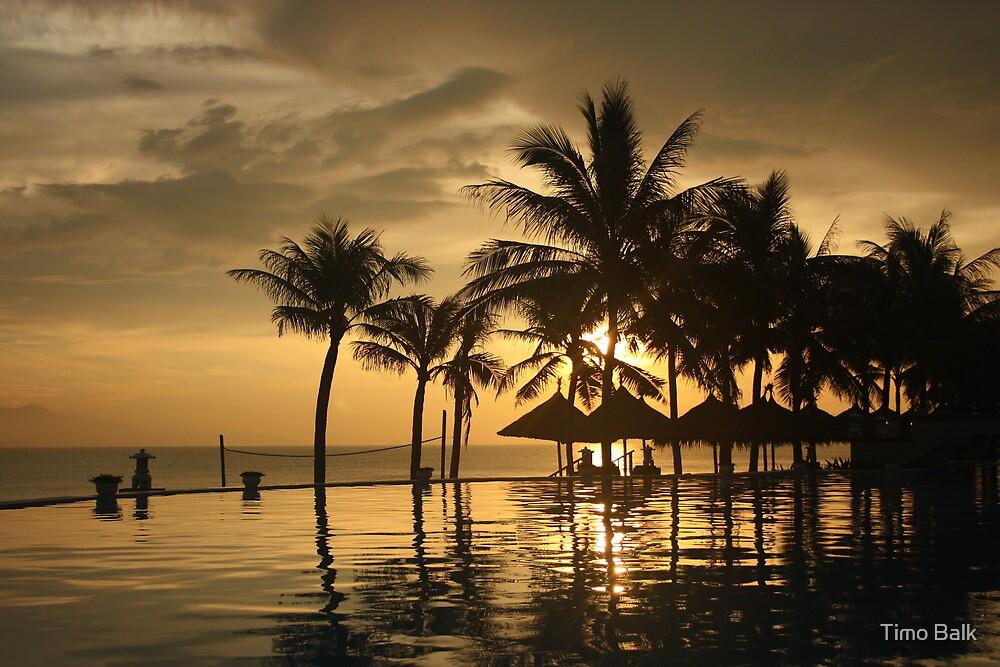 Beach Resort Sunrise by Timo Balk