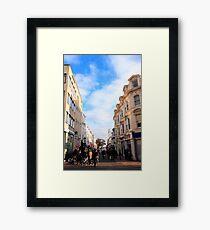 Duke street Framed Print