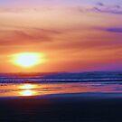 Beach Sunset by Lady  Dezine