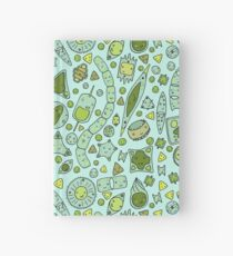 Tessellating Diatoms for skirts, duvets, notebooks, graphic tees etc Hardcover Journal