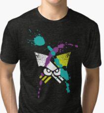 Splatoon - Turf Wars 3 Tri-blend T-Shirt