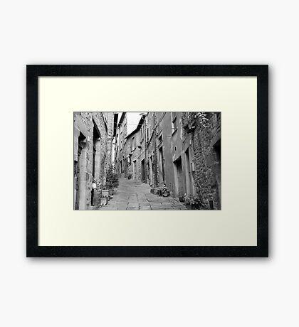 up this street Framed Print