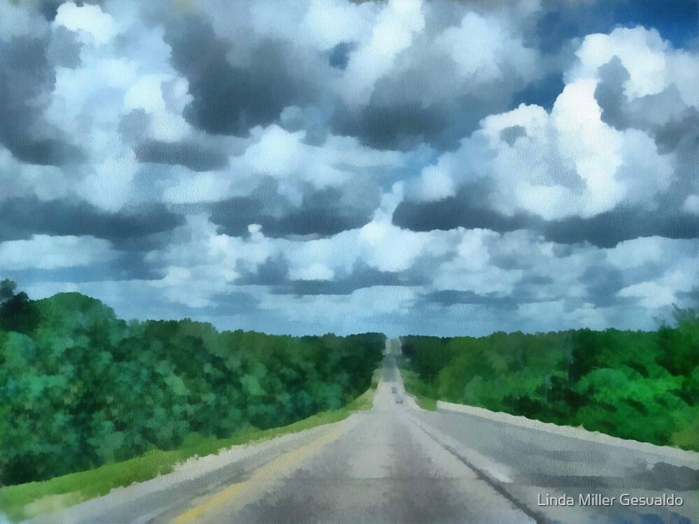 A Cloudy Drive by Linda Miller Gesualdo