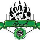 Druid Class Green by emilyRose3