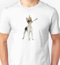 Toy Fox Terrier Birthday Unisex T-Shirt