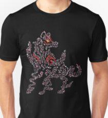 Okami Amaterasu - Cherry Blossom Form [BLACK] Slim Fit T-Shirt