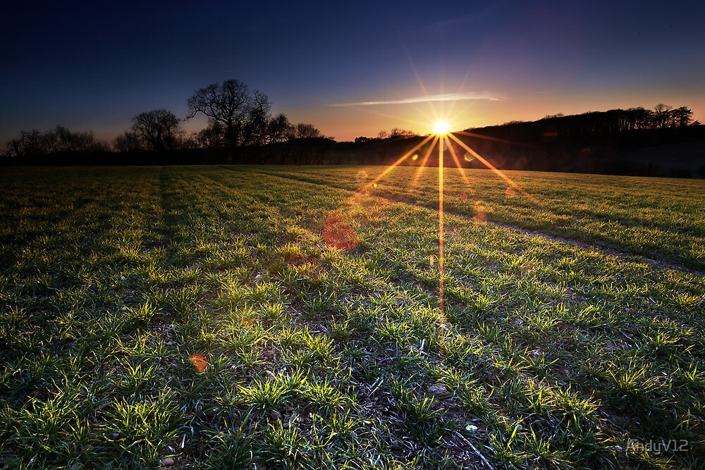 Solar Flare for Tea? by Andy Freer