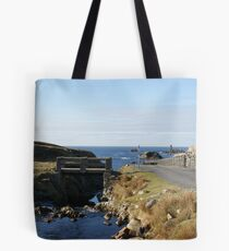 Port from the bridge Tote Bag