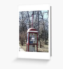 Call box Greeting Card