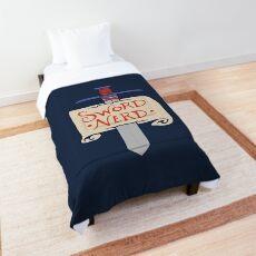Sword Nerd Comforter