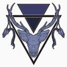 Triangle Deer by mattimac
