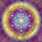 Sacred Geometry 40 by Endre