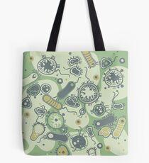 Eukaryote (grün) Tote Bag