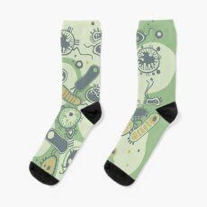 Eukaryote (grün) Socken