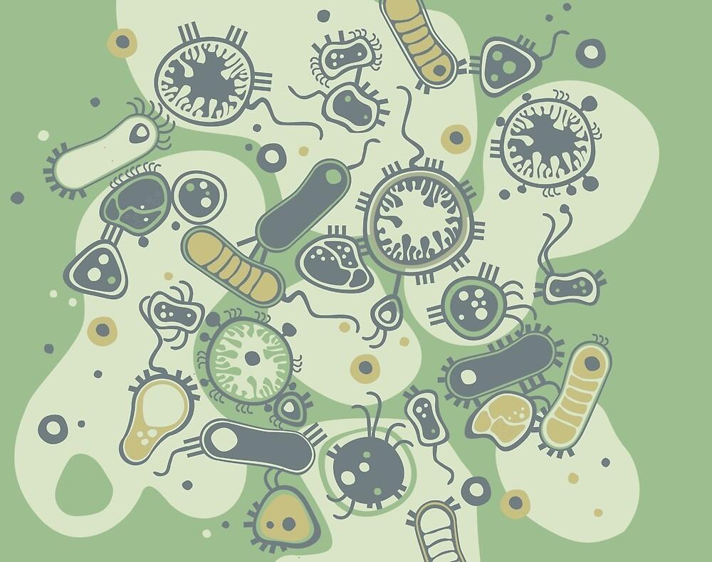 Eukaryote (grün) von Daniela  Illing