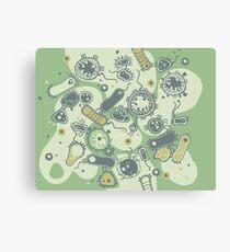 Eukaryote (grün) Leinwanddruck