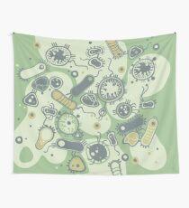 Eukaryote (grün) Wandbehang