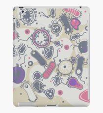 Eukaryote (rosa/lila) iPad-Hülle & Klebefolie