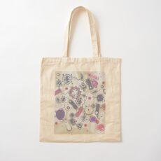 Eukaryote (rosa/lila) Baumwolltasche
