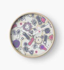 Eukaryote (rosa/lila) Uhr
