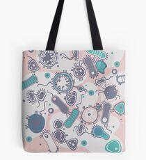 Eukaryote (rosa/türkis) Tote Bag