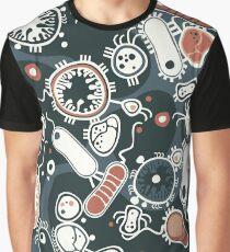 Eukaryote (dunkel + blau) Grafik T-Shirt