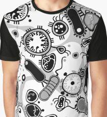 Eukaryote (schwarz/weiß) Grafik T-Shirt