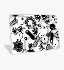 Eukaryote (schwarz/weiß) Laptop Folie