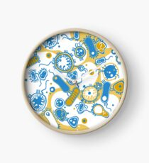 Eukaryote (gelb+ blau) Uhr