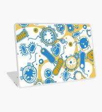 Eukaryote (gelb+ blau) Laptop Folie