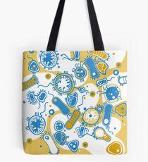 Eukaryote (gelb+ blau) Tote Bag