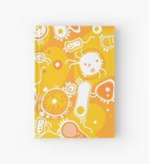 Eukaryote (weiß + gelb) Notizbuch
