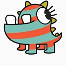 Baby Monster - The Stripey One by Meep
