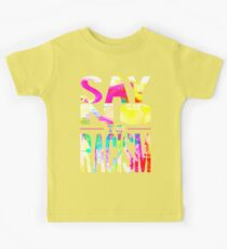 SAY NO TO RACISM - BLACK Kids Clothes