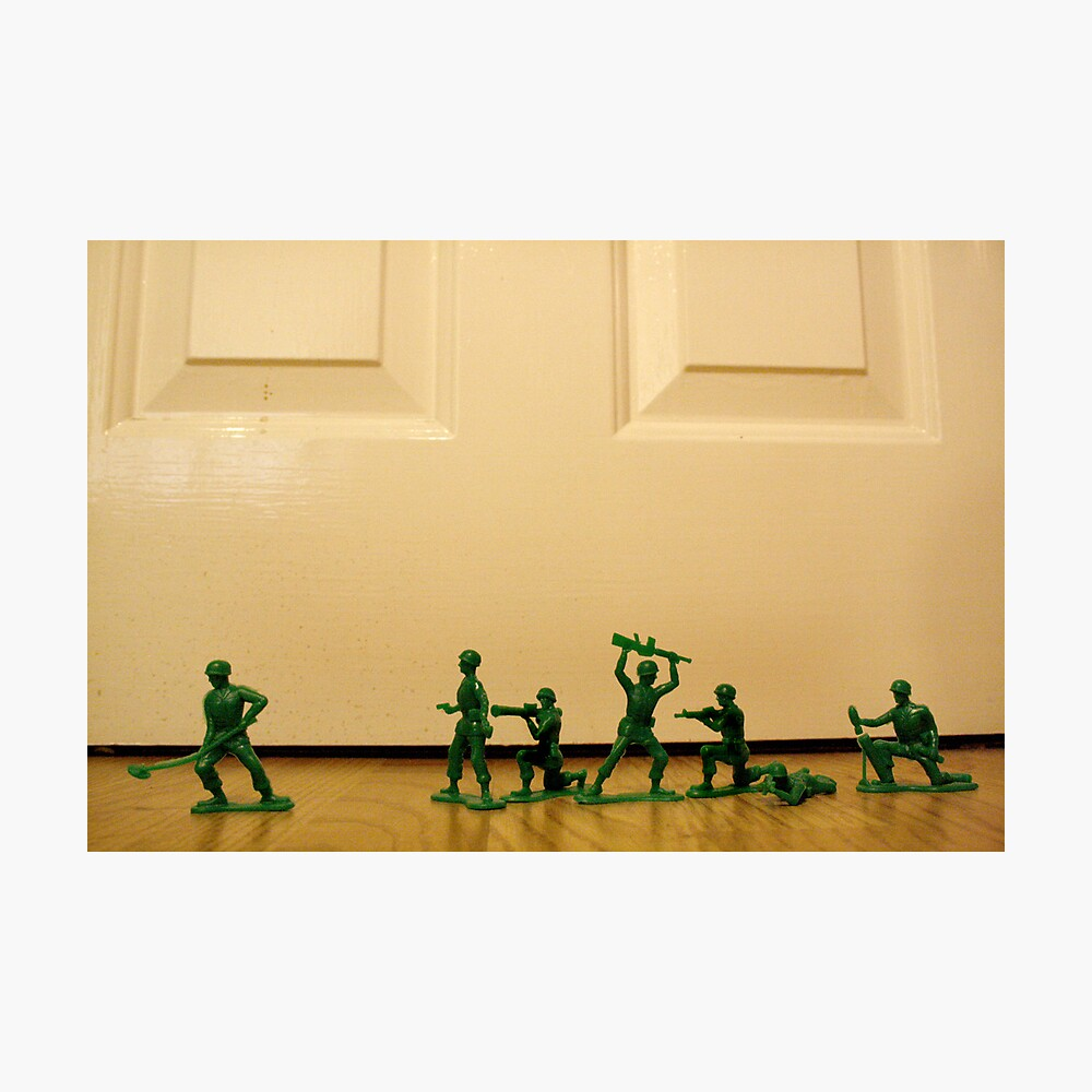 Toy Story Recreation - Soldiers in Toy Mode Fotodruck