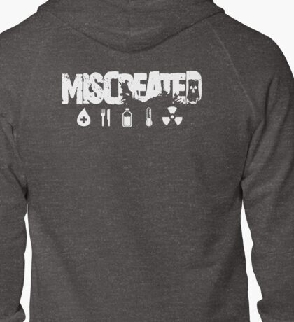 Miscreated Zipped Hoodie White Text (Official) T-Shirt