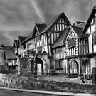The Lord Leycester Hospital, Warwick, England by Ann Garrett