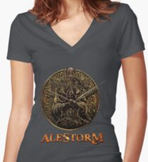Alestorm Women's Fitted V-Neck T-Shirt