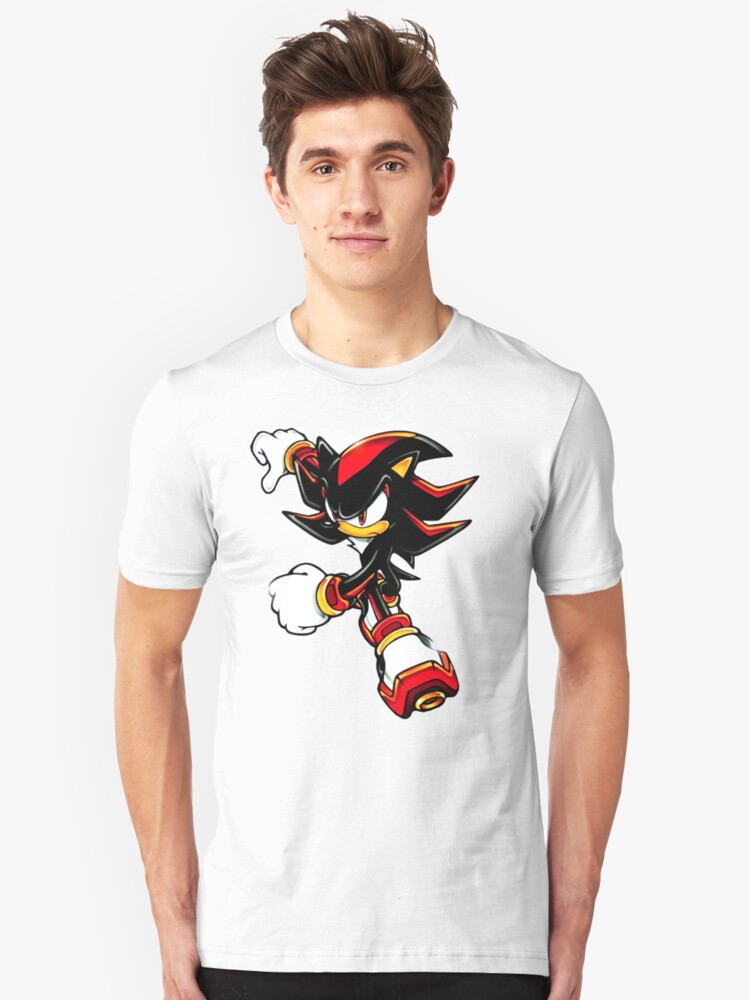 Shadow shirt (from Sonic) Unisex T-Shirt Front