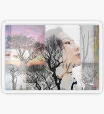Wild solitude Transparent Sticker