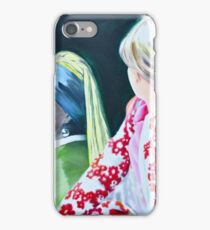 Three studies of Zwei Freundinnen II iPhone Case/Skin