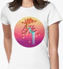 An isometric sunset T-Shirt