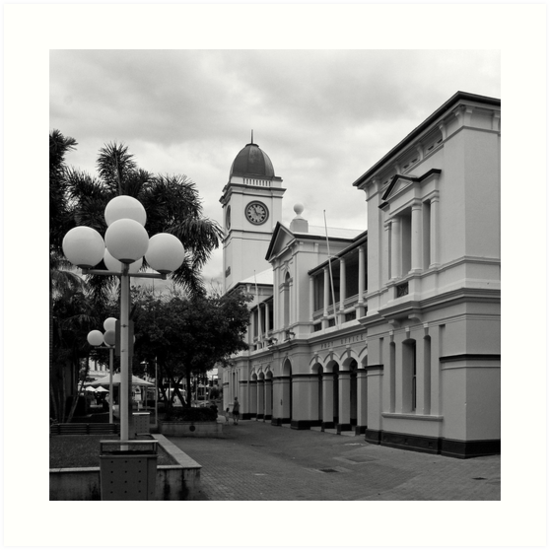 Townsville Post Office - Now a Pub (The Brewery) by Paul Gilbert
